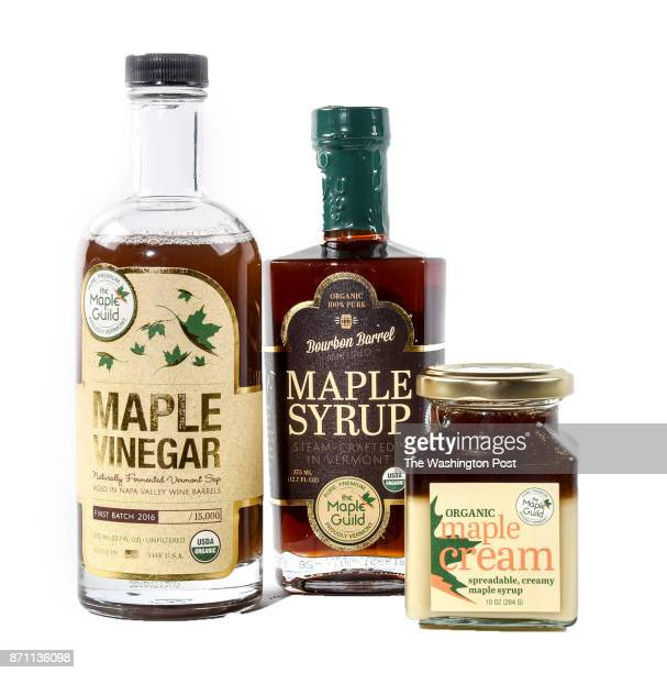 A selection of maple delicacies from Maple Guild items for the Post's annual gift guide on October 2017 in Washington DC
