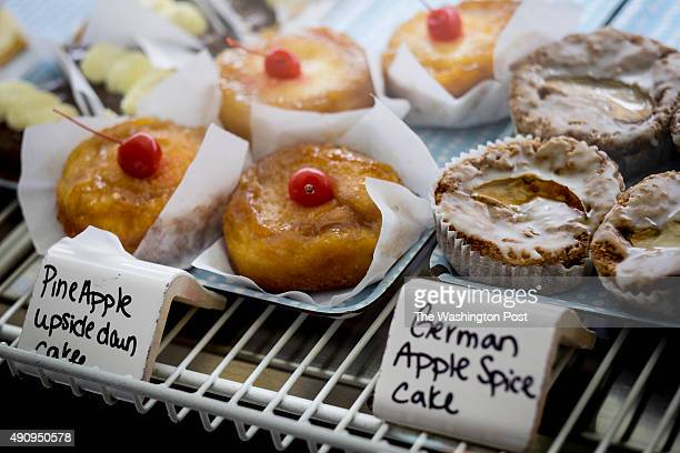 A selection of pastrys in the case at Eileen's Bakery Cafe in Old Town Fredericksburg on Saturday September 12 2015 in Fredericksburg Virginia The...