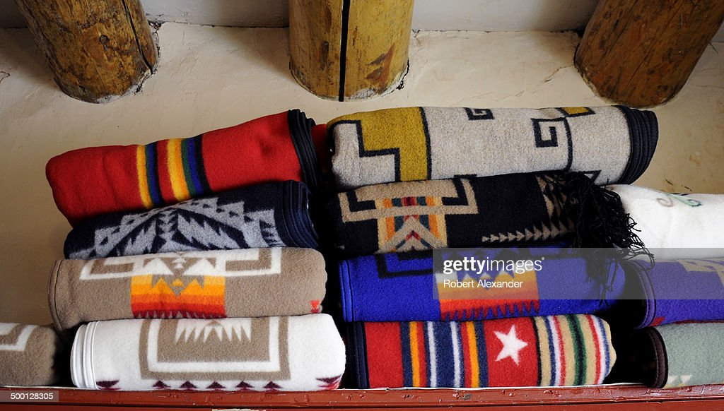 A Selection Of Pendleton Wool Blankets Is Among The Items For Sale