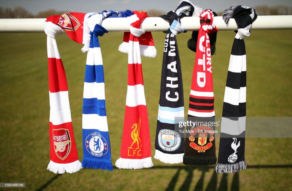 European Super League reaction : News Photo