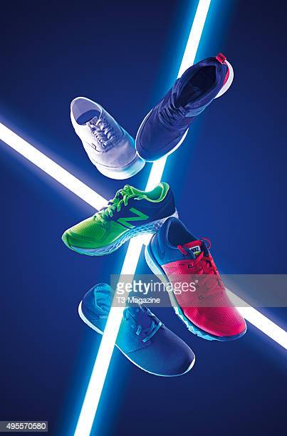 A selection of trainers including Vans LXVI Authentic Lite Puma Aril Nike Free Trainer 50 Cushe Getaway and a New Balance Fresh Foam Zante taken on...