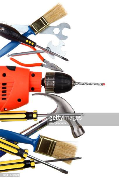 Selection of work tools