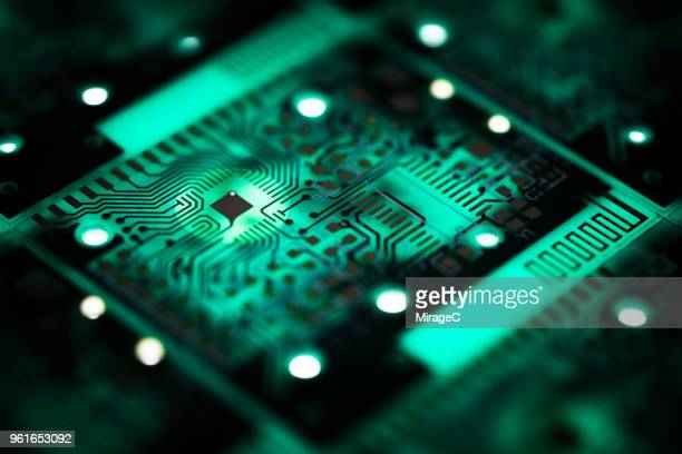 selective focus pcb printing - macro stock pictures, royalty-free photos & images