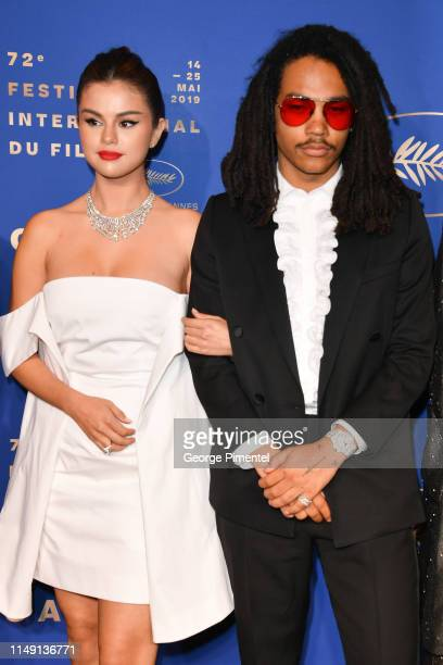 Selena Gomez and Luka Sabbat arriving at the Gala Dinner during the 72nd annual Cannes Film Festival on May 14 2019 in Cannes France