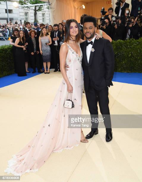 Selena Gomez and The Weeknd attend the Rei Kawakubo/Comme des Garcons Art Of The InBetween Costume Institute Gala at the Metropolitan Museum of Art...