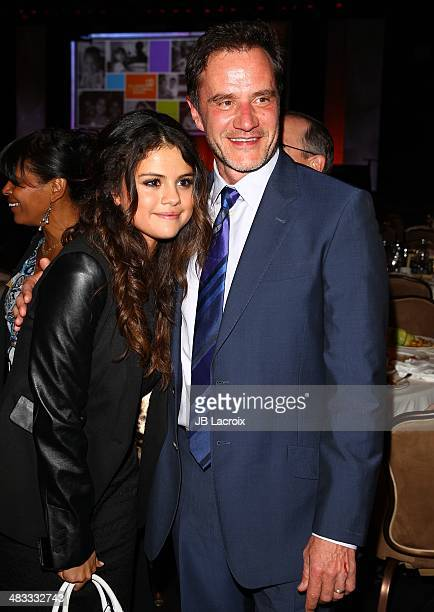 Selena Gomez and Tim DeKay attend The Alliance For Children's Rights 22nd Annual Dinner held at the Beverly Hilton hotel on April 7 2014 in Beverly...