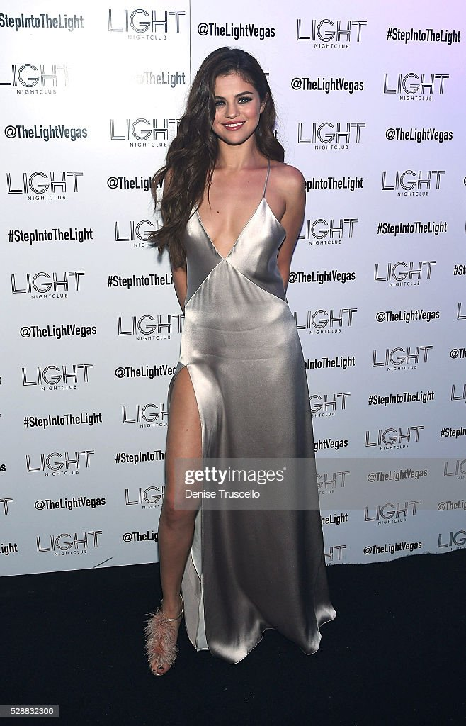 Selena Gomez Kicks Off Revival Tour With Official Concert After Party At Light Nightclub In Las Vegas : News Photo