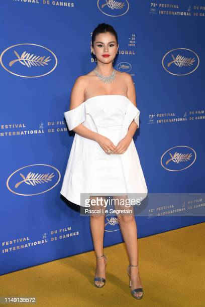 Selena Gomez arriving at the Gala Dinner during the 72nd annual Cannes Film Festival on May 14 2019 in Cannes France