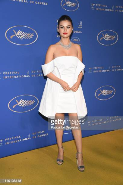 Selena Gomez arriving at the Gala Dinner during the 72nd annual Cannes Film Festival on May 14, 2019 in Cannes, France.