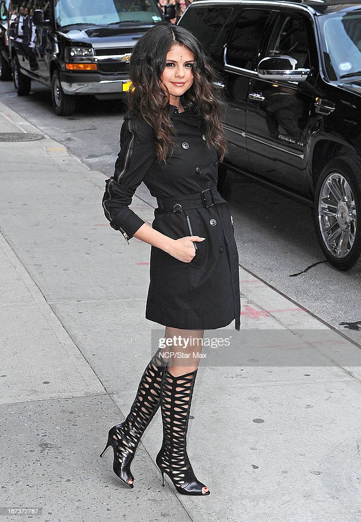 Selena Gomez as seen on April 24, 2013 in New York City.