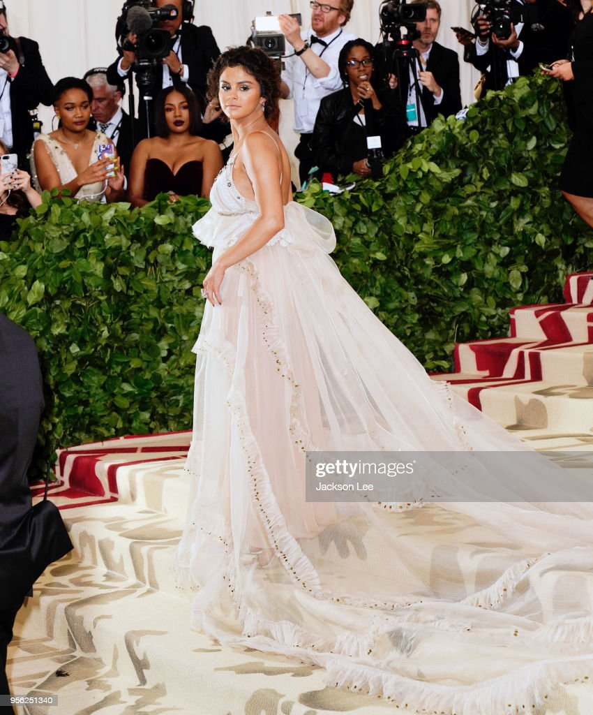 Selena Gomez at Metropolitan Museum of Art on May 7, 2018 in New York City.