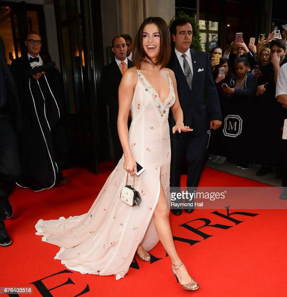 Selena Gomez attend the 'Rei Kawakubo/Comme des Garcons: Art Of The In-Between' Costume Institute Gala at Metropolitan Museum of Art on May 1, 2017...