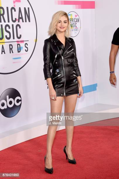 Selena Gomez attends 2017 American Music Awards at Microsoft Theater on November 19 2017 in Los Angeles California