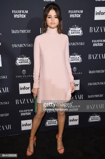 Selena Gomez attends Harper's BAZAAR Celebration of 'ICONS By Carine Roitfeld' at The Plaza Hotel presented by Infor Laura Mercier Stella Artois...
