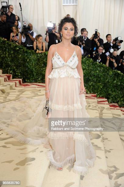 Selena Gomez attends Heavenly Bodies Fashion The Catholic Imagination Costume Institute Gala at the Metropolitan Museum of Art in New York City