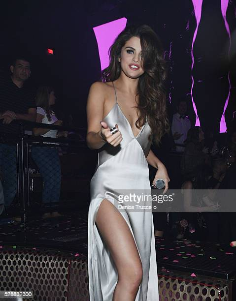Selena Gomez attends her official Revival Tour kick off after party at Light Nightclub at Mandalay Bay Hotel and Casino on May 06 2016 in Las Vegas...
