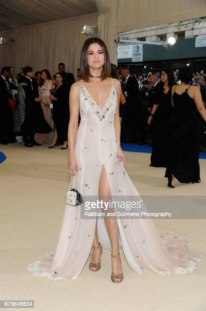 """Selena Gomez attends """"Rei Kawakubo/Comme des Garcons: Art Of The In-Between"""" Costume Institute Gala - Arrivals at Metropolitan Museum of Art on May..."""