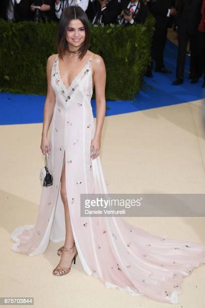 Selena Gomez attends 'Rei Kawakubo/Comme des Garcons Art Of The InBetween' Costume Institute Gala Arrivals at Metropolitan Museum of Art on May 1...