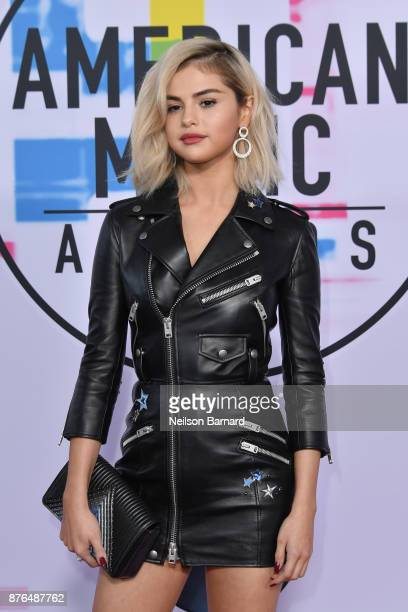 Selena Gomez attends the 2017 American Music Awards at Microsoft Theater on November 19 2017 in Los Angeles California