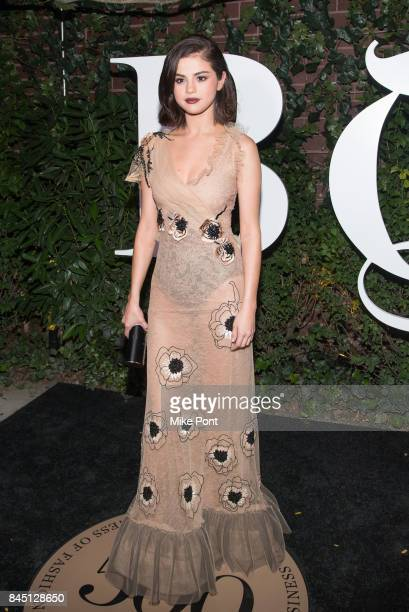 Selena Gomez attends the 2017 BoF 500 Gala at Public Hotel on September 9 2017 in New York City