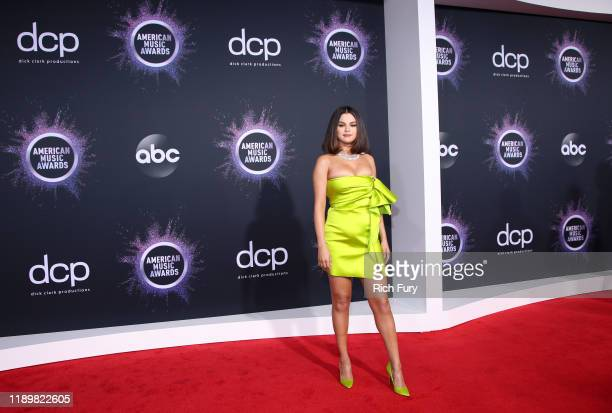 Selena Gomez attends the 2019 American Music Awards at Microsoft Theater on November 24 2019 in Los Angeles California