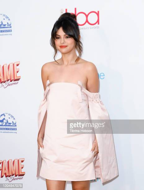 Selena Gomez attends the 2020 Hollywood Beauty Awards at The Taglyan Complex on February 06 2020 in Los Angeles California