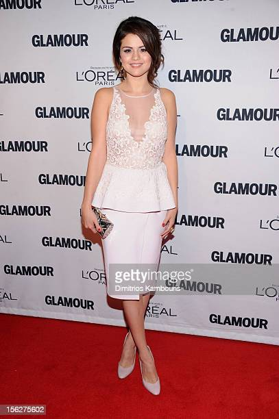 Selena Gomez attends the 22nd annual Glamour Women of the Year Awards at Carnegie Hall on November 12 2012 in New York City