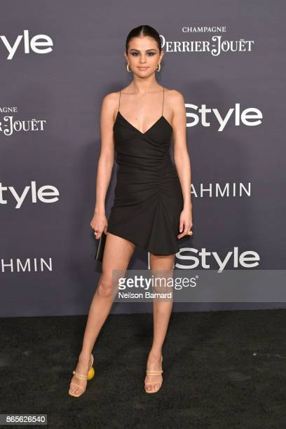 Selena Gomez attends the 3rd Annual InStyle Awards at The Getty Center on October 23 2017 in Los Angeles California