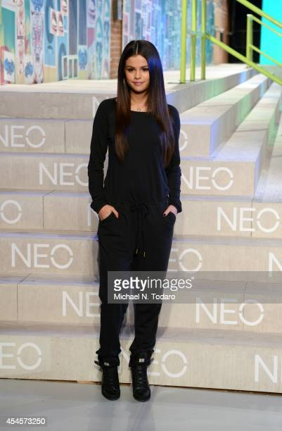 63cefad2d2 Selena Gomez attends the Adidas Neo show during MercedesBenz Fashion Week  Spring 2015 at The Waterfront