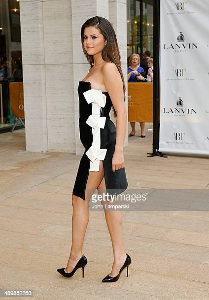 Selena Gomez attends the American Ballet Theatre 2014 Opening Night Spring Gala at The Metropolitan Opera House on May 12 2014 in New York City