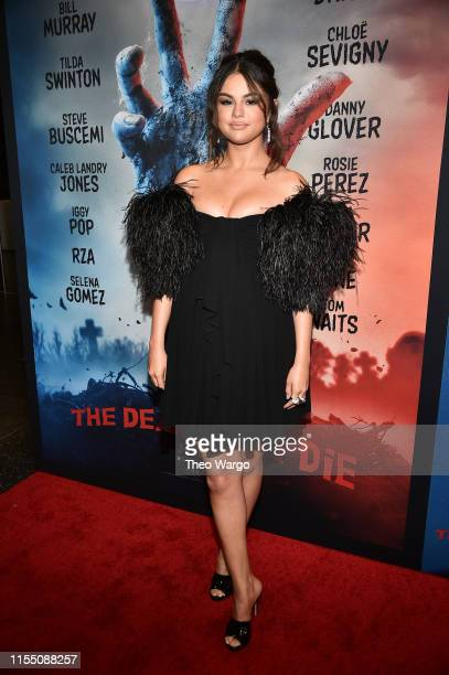 Selena Gomez attends The Dead Don't Die New York Premiere at Museum of Modern Art on June 10 2019 in New York City