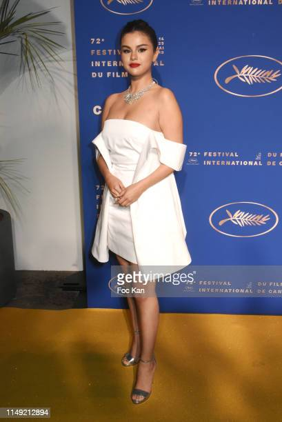 Selena Gomez attends the Gala Dinner during the 72nd annual Cannes Film Festival on May 14 2019 in Cannes France