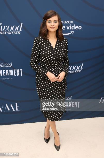 Selena Gomez attends The Hollywood Reporter's Empowerment In Entertainment Event 2019 at Milk Studios on April 30 2019 in Los Angeles California