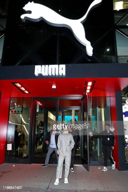Selena Gomez attends the Meet Greet with Selena Gomez at PUMA Flagship on January 14 2020 in New York City