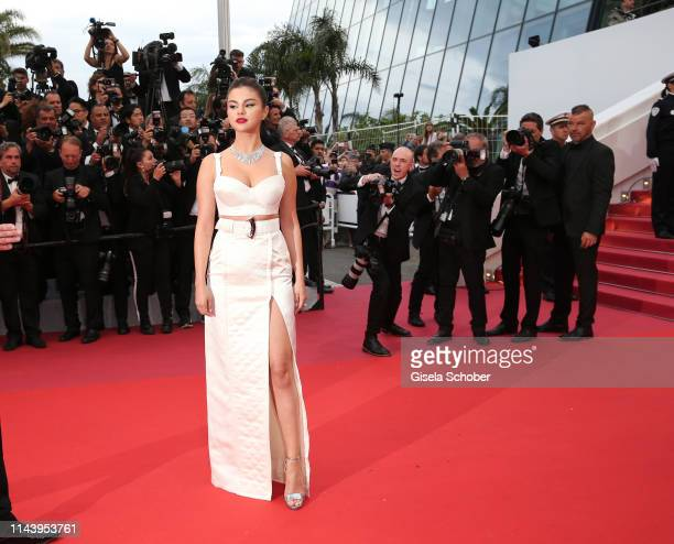 Selena Gomez attends the opening ceremony and screening of The Dead Don't Die during the 72nd annual Cannes Film Festival on May 14 2019 in Cannes...