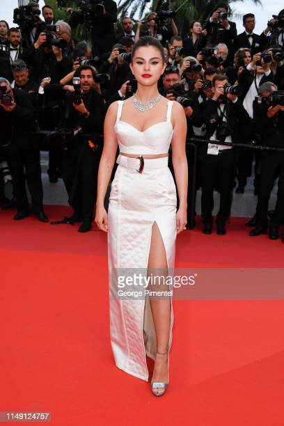 """Selena Gomez attends the opening ceremony and screening of """"The Dead Don't Die"""" during the 72nd annual Cannes Film Festival on May 14, 2019 in..."""