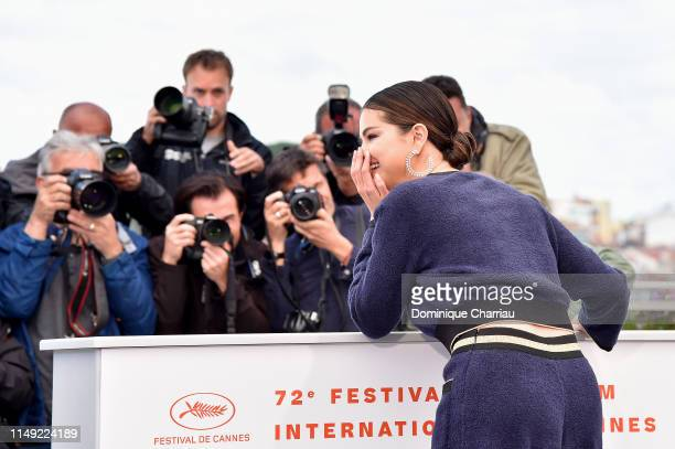 "Selena Gomez attends the photocall for ""The Dead Don't Die"" during the 72nd annual Cannes Film Festival on May 15, 2019 in Cannes, France."