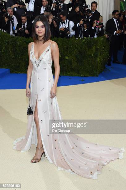 Selena Gomez attends the 'Rei Kawakubo/Comme des Garcons Art Of The InBetween' Costume Institute Gala at Metropolitan Museum of Art on May 1 2017 in...