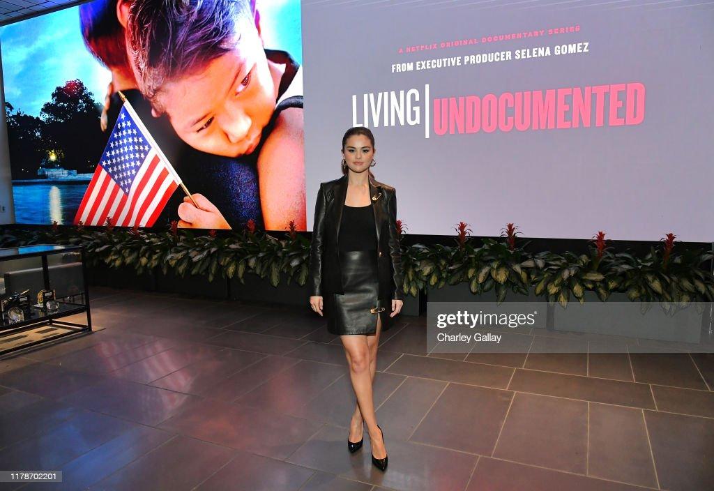 "LA Screening For Netflix's ""Living Undocumented"", Executive Produced By Selena Gomez : News Photo"