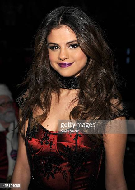 Selena Gomez backstage at Z100's Jingle Ball 2013 presented by Aeropostale at Madison Square Garden on December 13 2013 in New York City