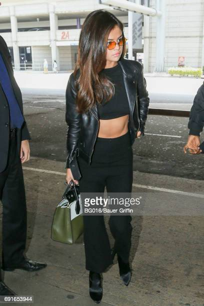 Selena Gomez is seen on June 02 2017 in Los Angeles California