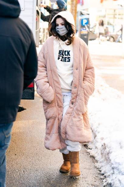 NY: Celebrity Sightings In New York City - February 20, 2021