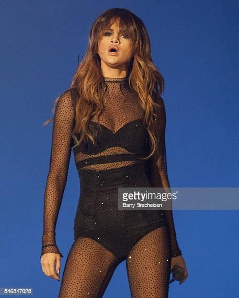 Selena Gomez performs at Festival D'ete De Quebec on July 11 2016 in Quebec City Canada