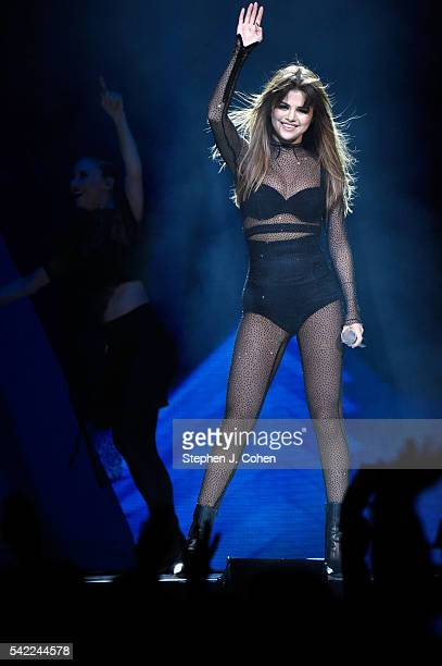 Selena Gomez performs at KFC YUM! Center on June 22, 2016 in Louisville, Kentucky.