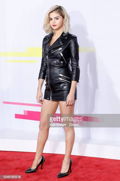 Selena Gomez photographed at the 2017 American Music Awards at Microsoft Theater on November 19 2017 in Los Angeles California United States