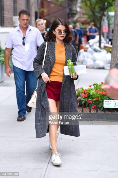 Selena Gomez seen in Manhattan on September 14 2017 in New York City