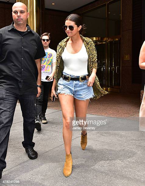Selena Gomez seen on the streets of Manhattan on June 23 2015 in New York City