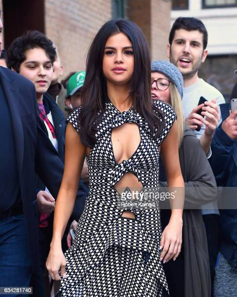 Selena Gomez seen out in Manhattan on February 8 2017 in New York City