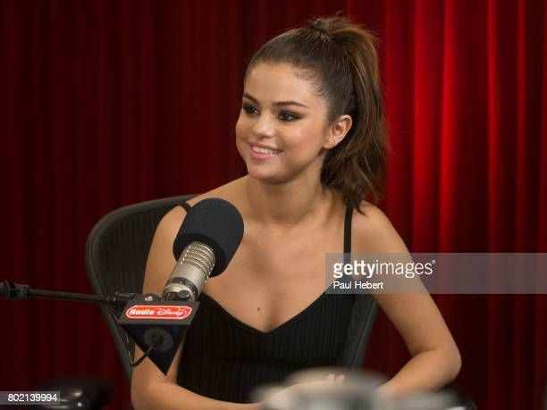 DISNEY Selena Gomez visited the Radio Disney studios to discuss her single Bad Liar SELENA