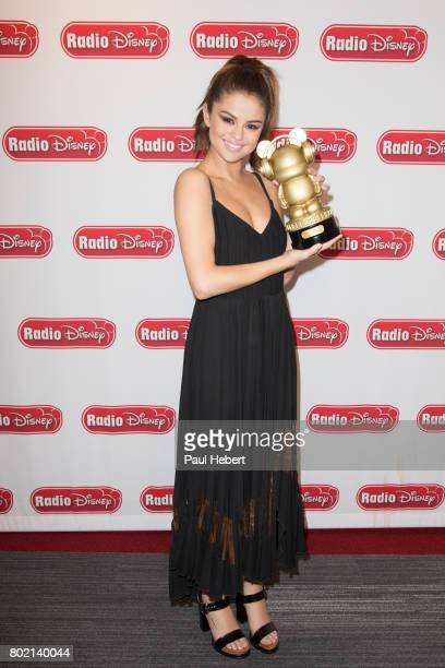 DISNEY Selena Gomez visited the Radio Disney studios to discuss her single 'Bad Liar' SELENA
